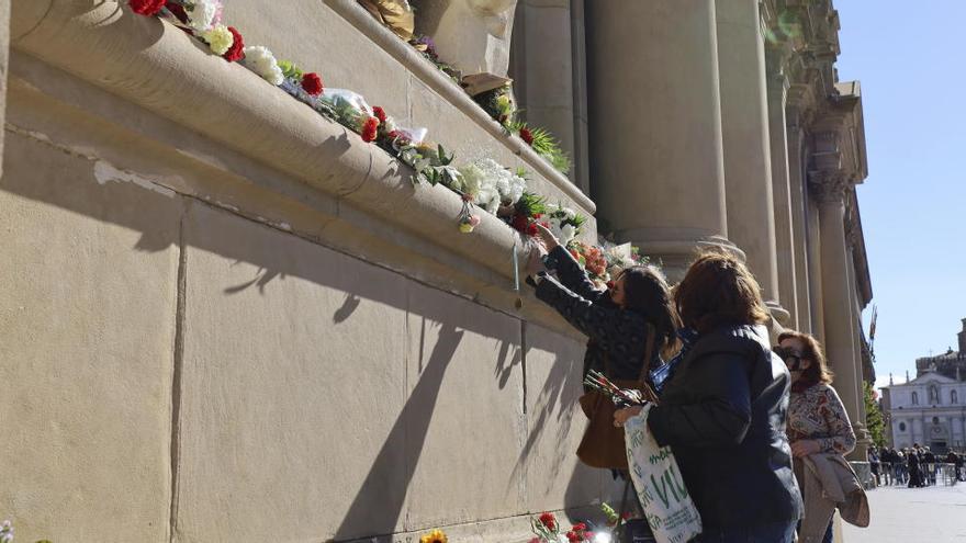Zaragoza lleva la procesión por dentro en el día del Pilar más atípico que se recuerda