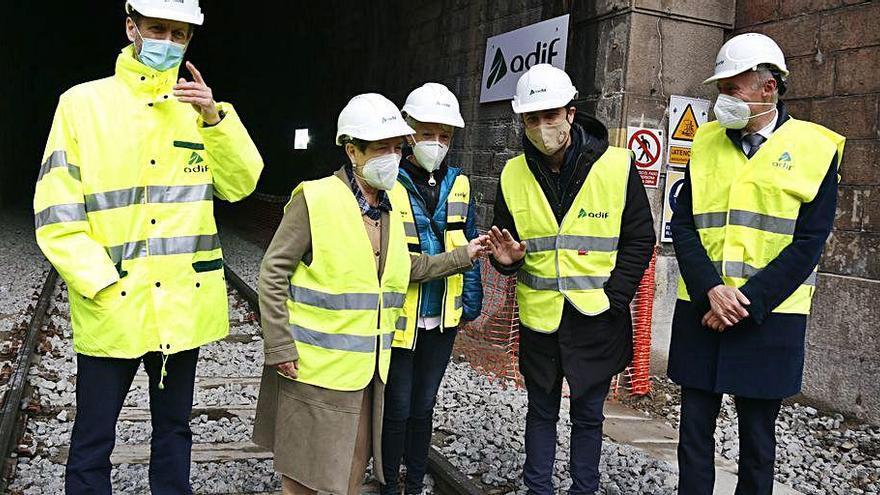 Els trens tornaran a passar pel túnel de Toses el 9 de maig