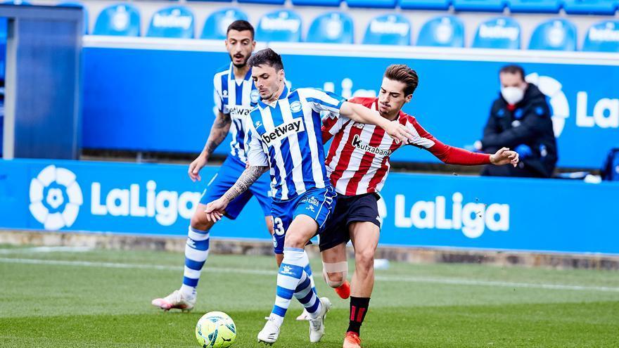 Rodrigo Ely da la primera victoria al Alavés ante un Athletic sin respuesta