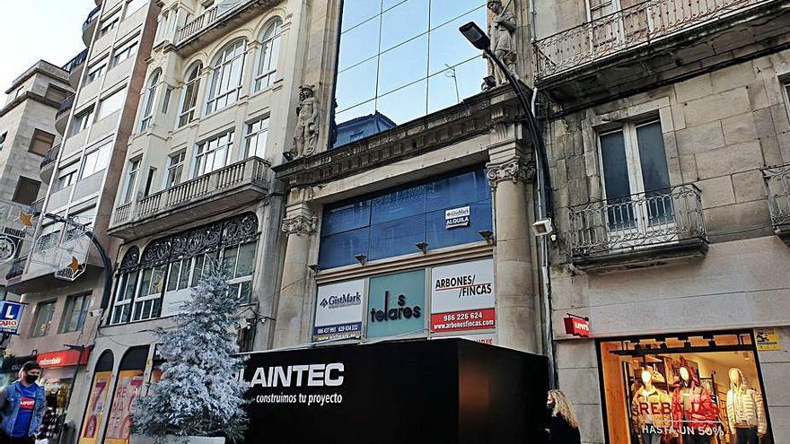 El edificio de Los Telares, en Príncipe, inicia su recuperación