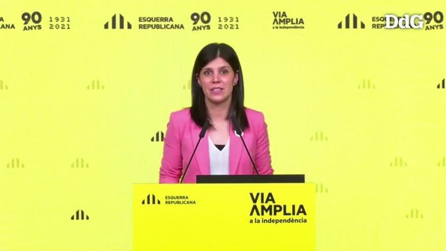 """ERC demana un """"gest de responsabilitat i confiança"""" a Junts per investir Aragonès dimarts"""