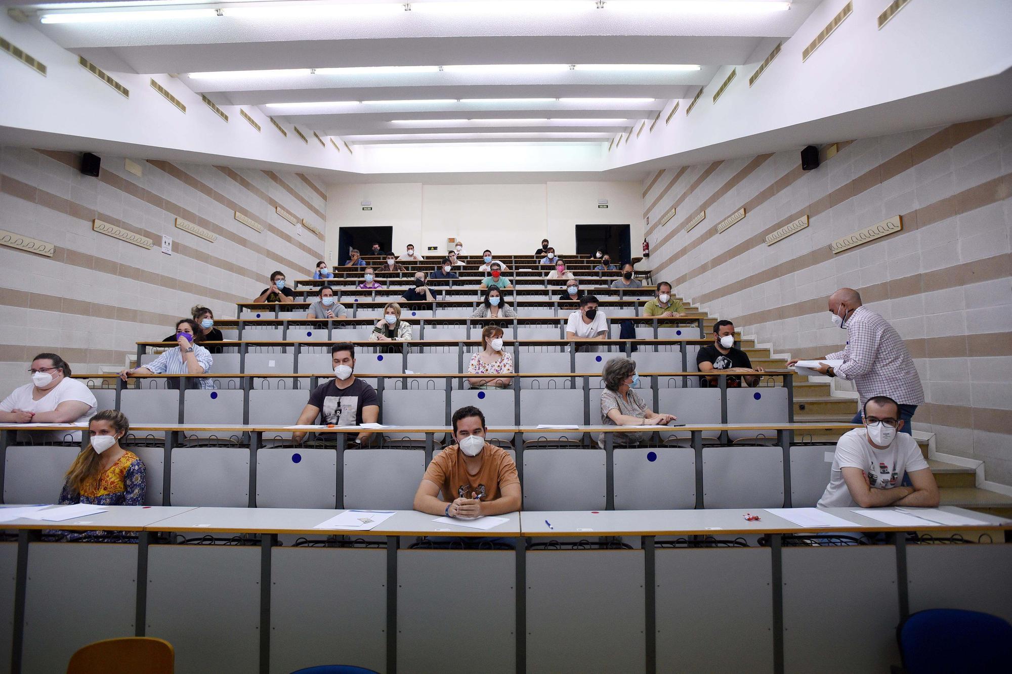 Rabanales acoge las oposiciones a profesor de secundaria
