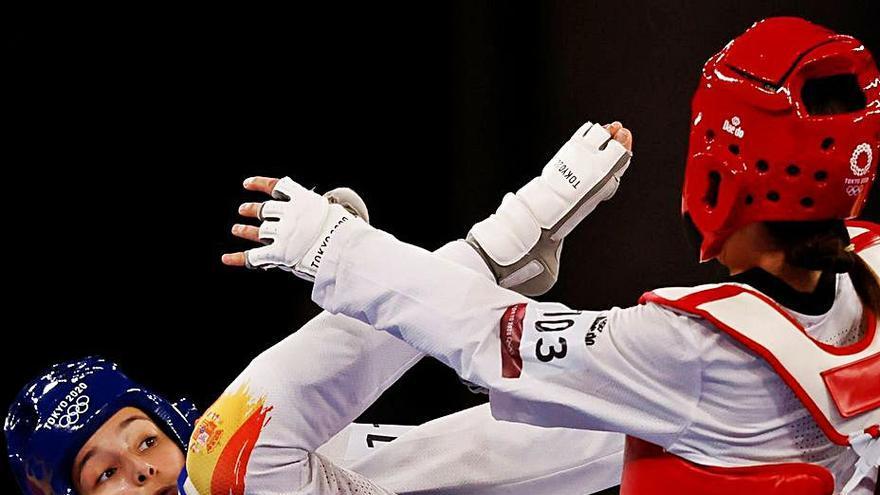 Adriana Cerezo se cae del Europeo sub-21 de Tallín