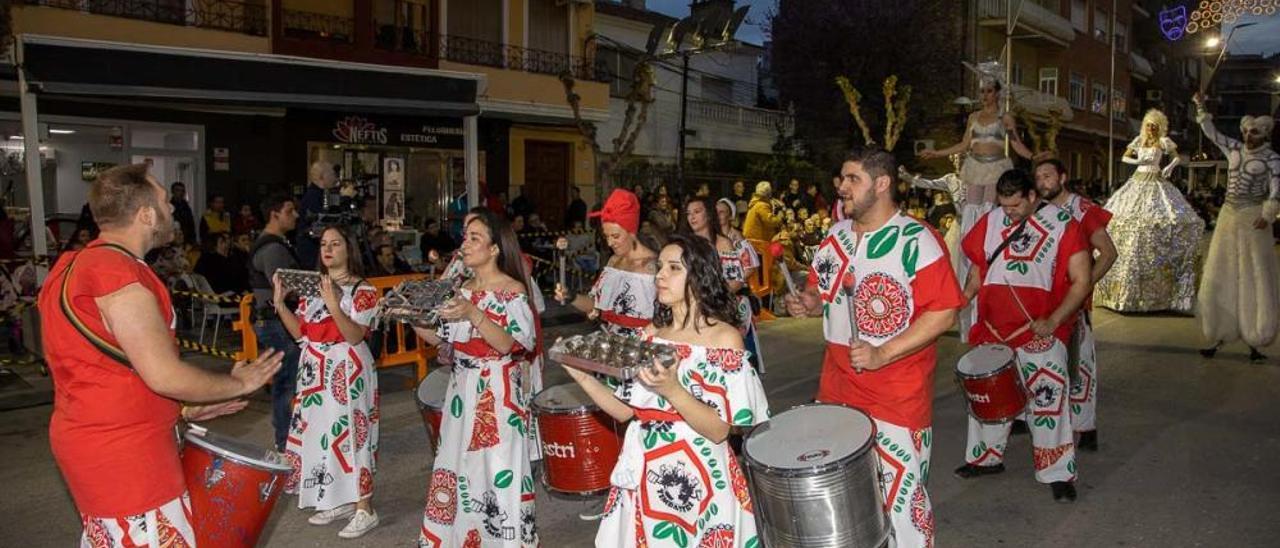 Desfile de Carnaval en Cehegín