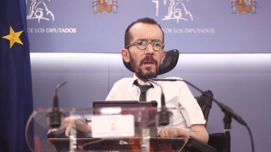 """Echenique critica que Felipe VI no haya """"condenado explícitamente las actividades corruptas de Juan Carlos I"""""""