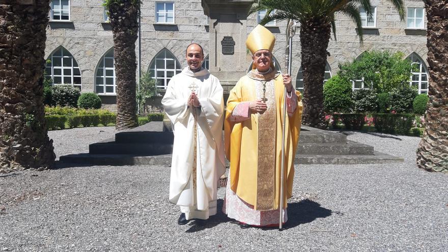 Del teatro y la hostelería al sacerdocio: José Heras, el nuevo cura de Ourense