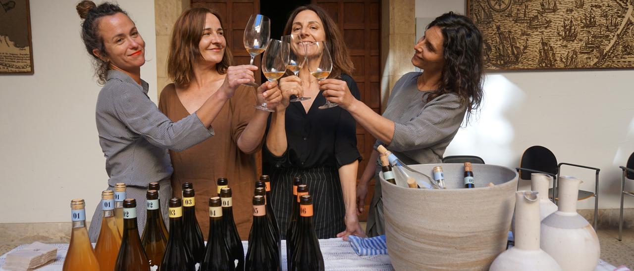 La presentación de los vinos de Ca Na Toneta.