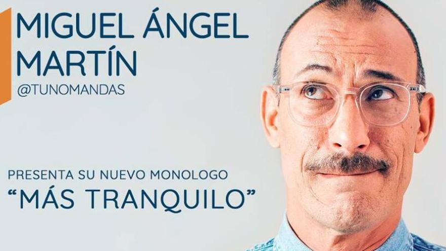 ¿Quieres ver  gratis a Miguel Ángel Martín en Kinepolis Live?