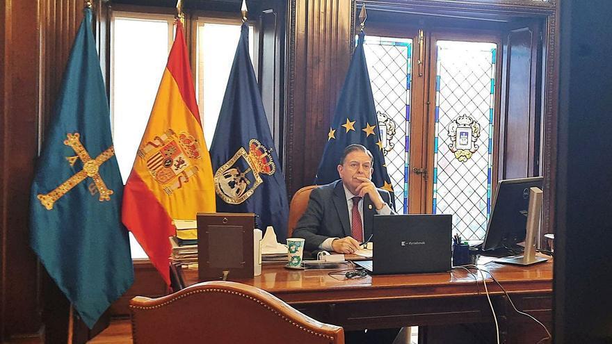 Canteli y la FEMP, a la espera de los fondos del plan de recuperación