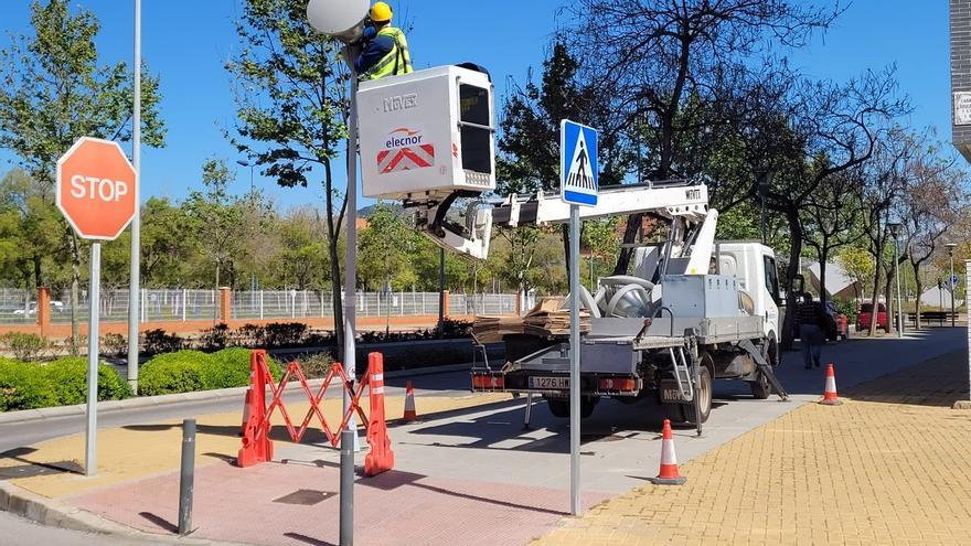Castelló inicia la renovación del alumbrado público con tecnología LED