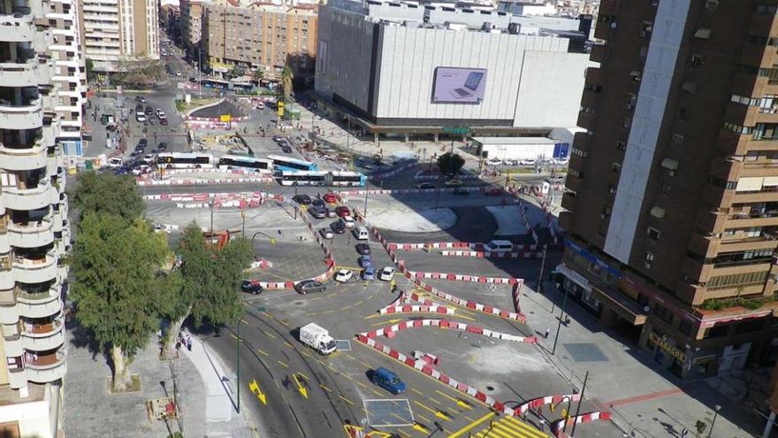 Las obras del metro bajo la avenida de Andalucía se retomarán en verano