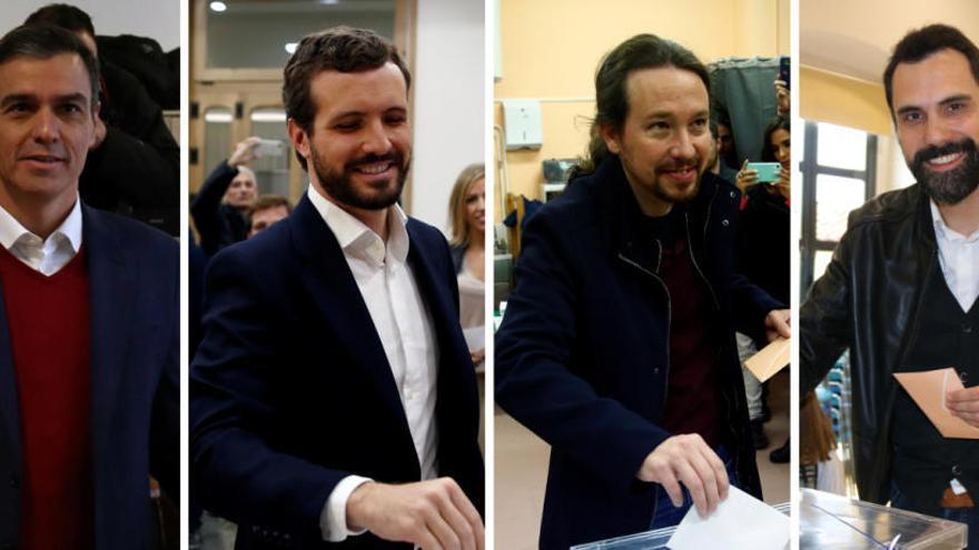 Les reaccions a peu d'urna: Sánchez confia que la jornada discorrerà amb «normalitat» a Catalunya