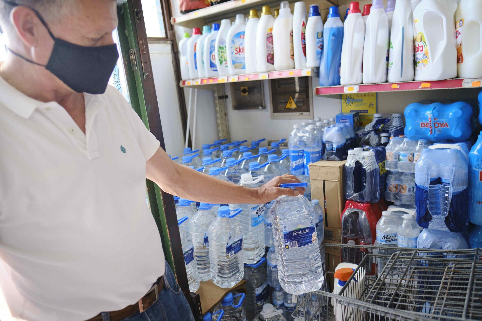 Restricciones en el consumo de agua en La Guancha