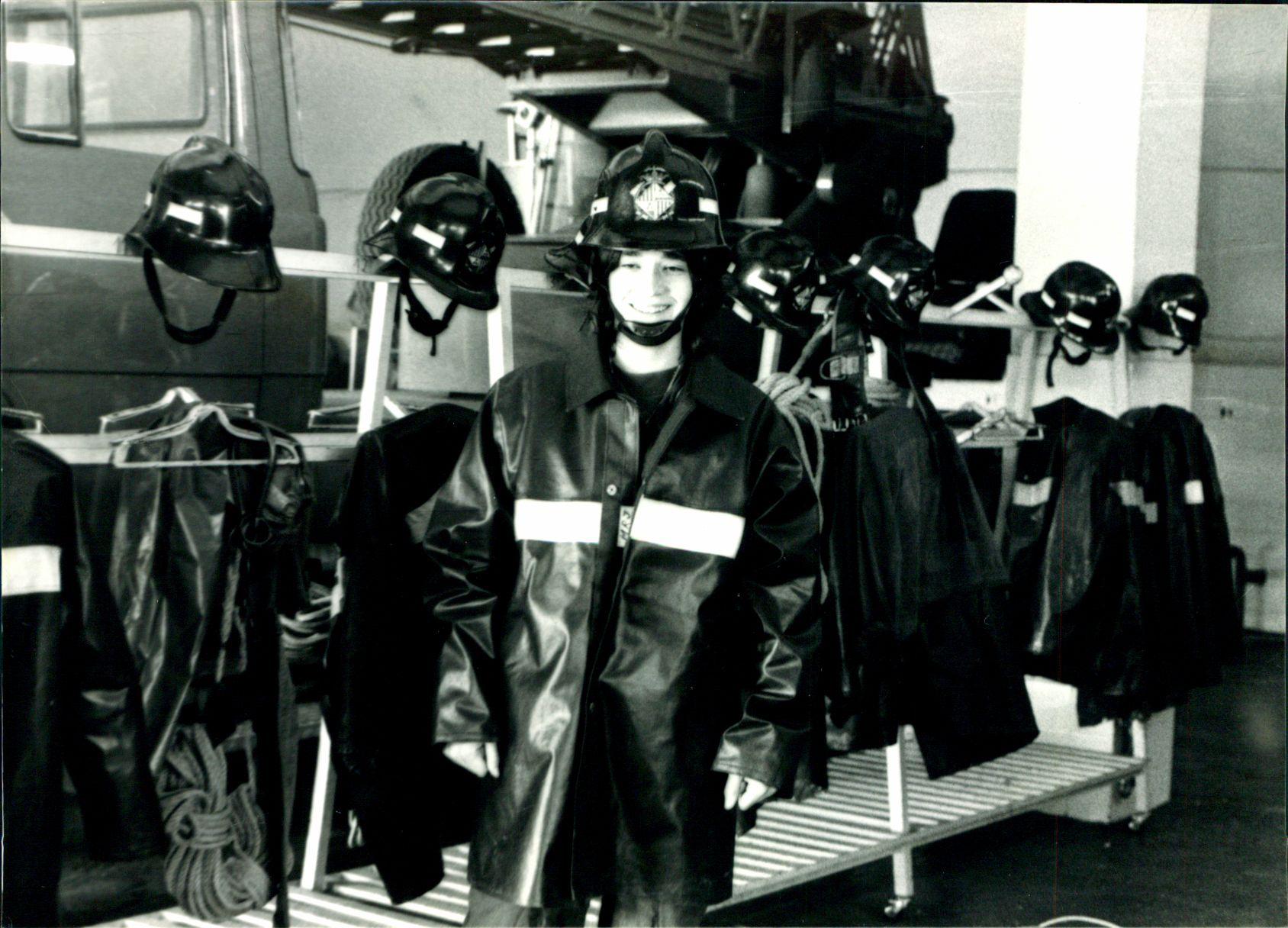 Muere Magdalena Rigo, la primera bombera de España