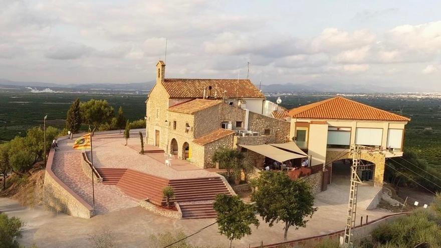 Así ha quedado la Muntanyeta de Sant Antoni de Betxí tras su reforma e inauguración