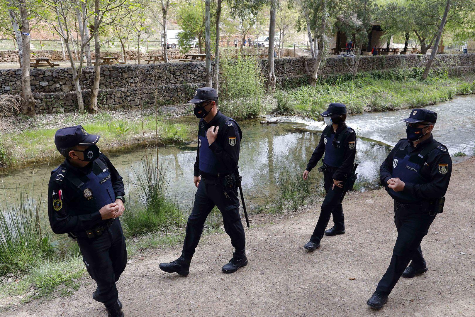 Dispositivo de la policía autonómica en zonas recreativas