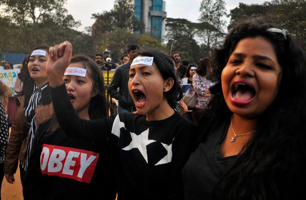 Protestas contra Donald Trump en la India