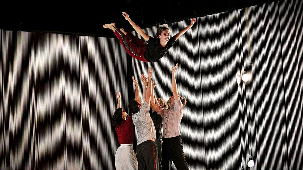 Un dels espectacles del festival Dansa València.  | LEVANTE-EMV