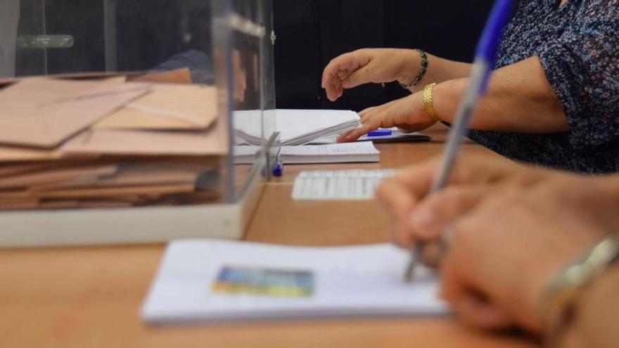 ¿Cuáles son las funciones de cada miembro de la mesa electoral?