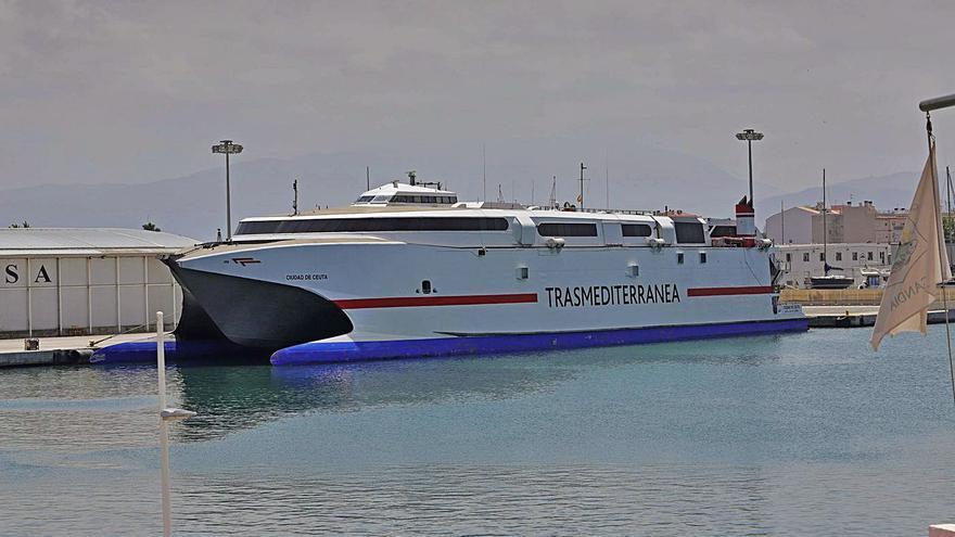 La crisis de la naviera Armas amenaza con anular la línea de Gandia a Ibiza