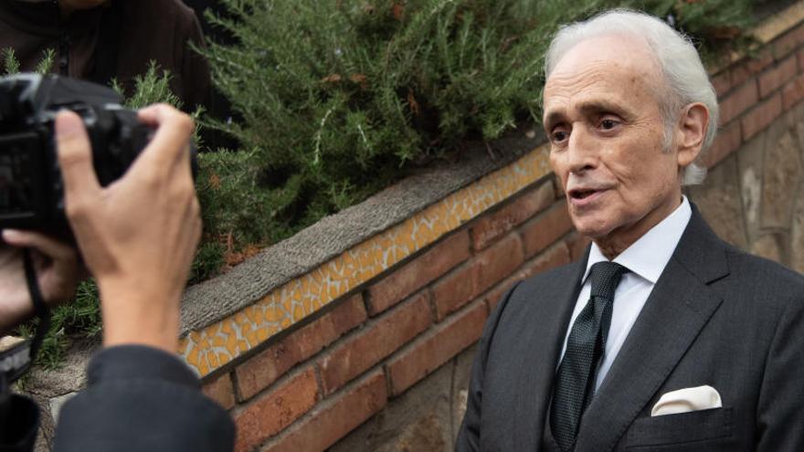 """Carreras echa en falta """"más catalán"""" en el funeral de Montserrat Caballé"""
