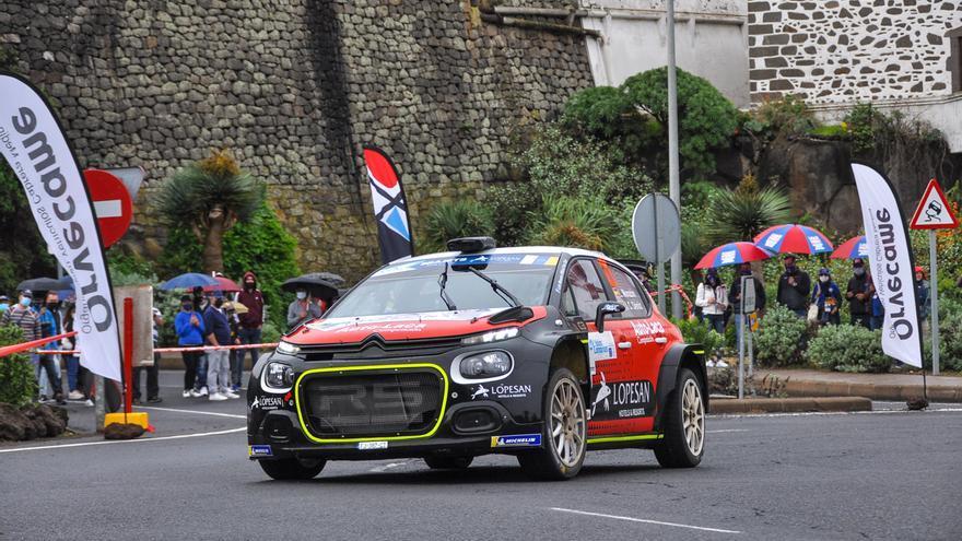 Rally Islas Canarias: Tramo de Valleseco