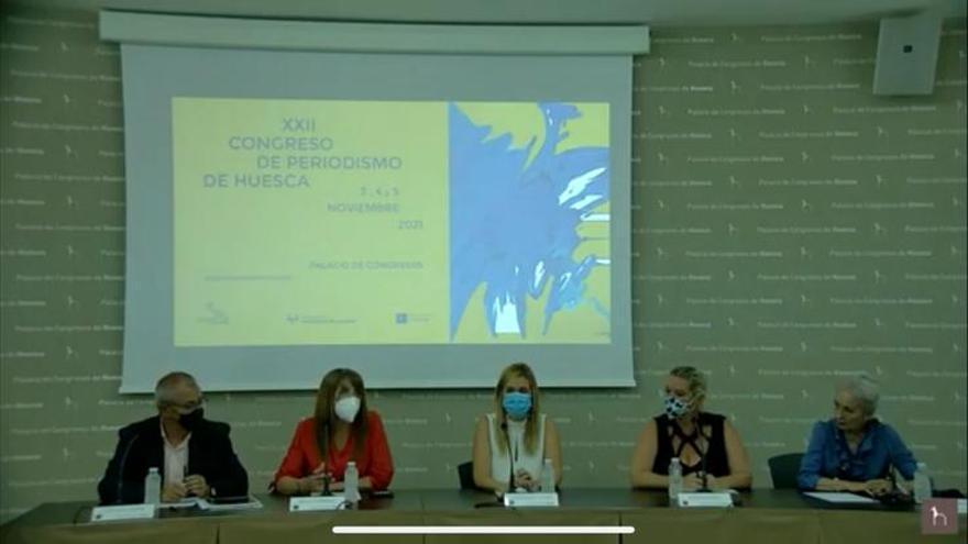 El Congreso de Periodismo vuelve presencial y virtual tras el covid-19