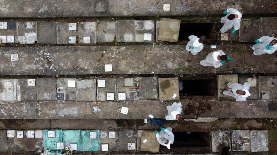 Brasil registra casi 4.000 muertos y 90.000 nuevos casos en un día