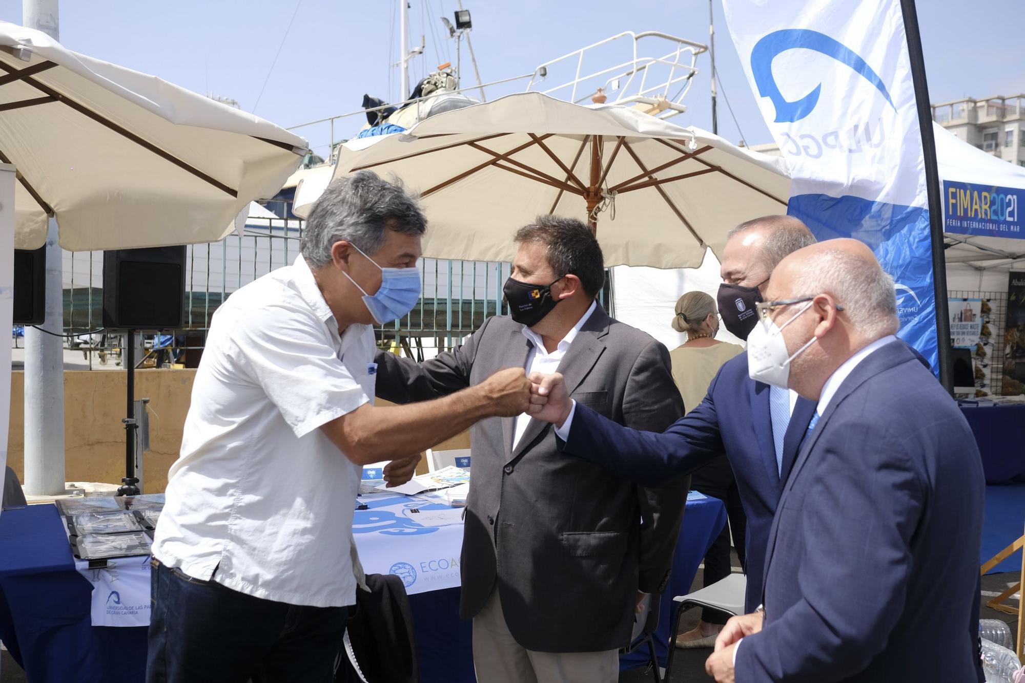 nauguración de la Feria Internacional del Mar, Fimar 2021