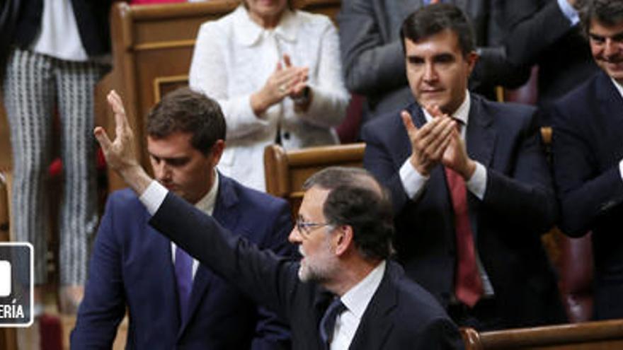 Rajoy, investido presidente tras diez meses de bloqueo político