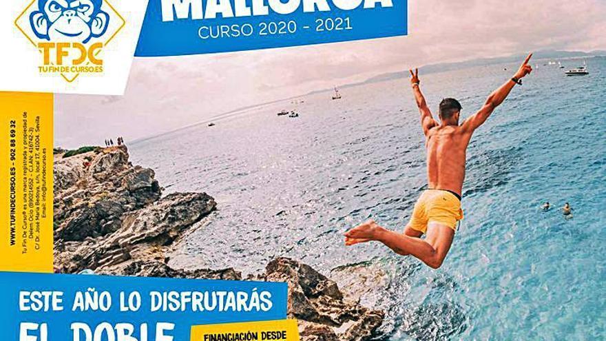 Así se comercializan los viajes de estudiantes a Mallorca: un «fin de curso especial» y con garantías sanitarias