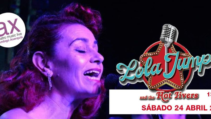 Lola Jumpa and The Hot Jivers en concierto