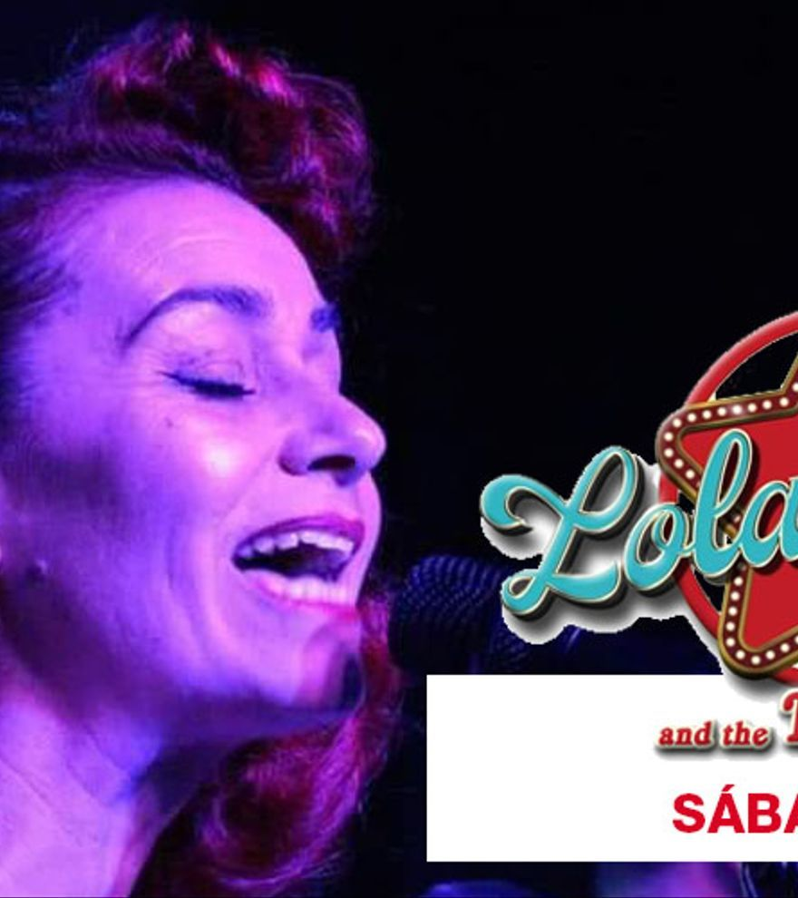 Lola Jumpa and The Hot Jivers en concierto