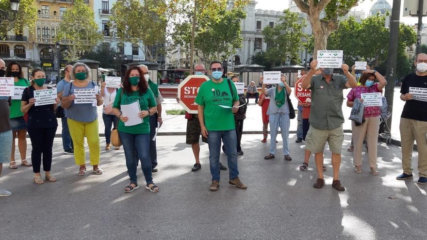 Las ejecuciones hipotecarias suben un 42% en 2020 en la Comunitat Valenciana, primer aumento tras cinco años de caída