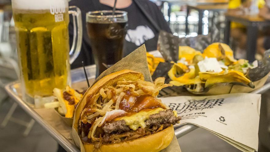 El paraíso de las hamburguesas está en Parque Principado