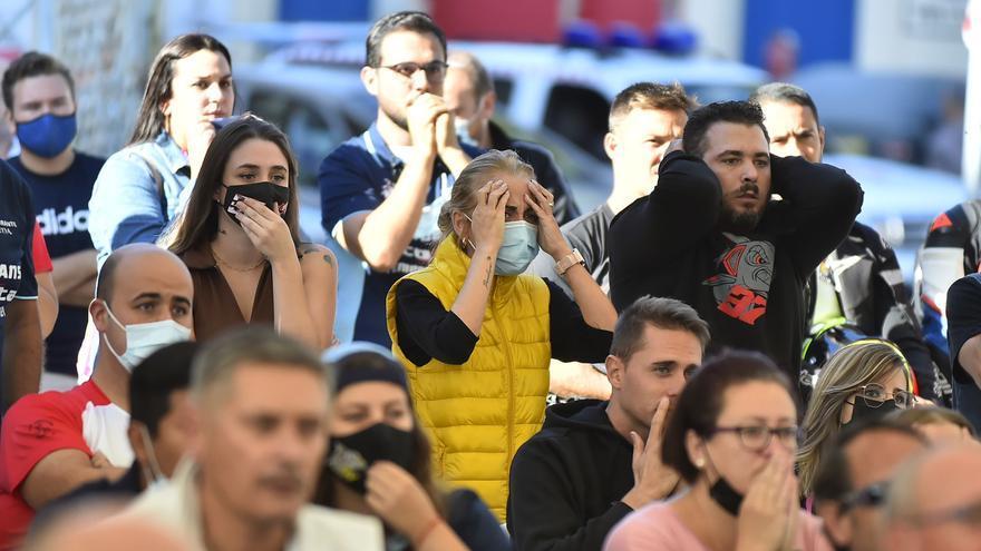 Mazarrón vibra con el podio de Pedro Acosta