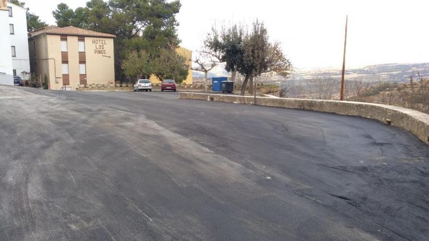 Benassal asfalta la Font d'En Segures