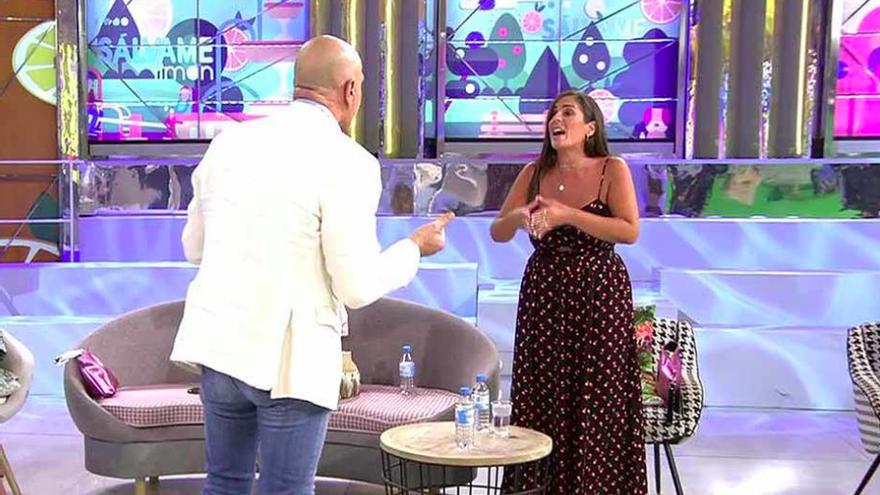 """Kiko Matamoros insulta y hace llorar a Anabel Pantoja en 'Sálvame': """"¡Pedazo de cerda!"""""""