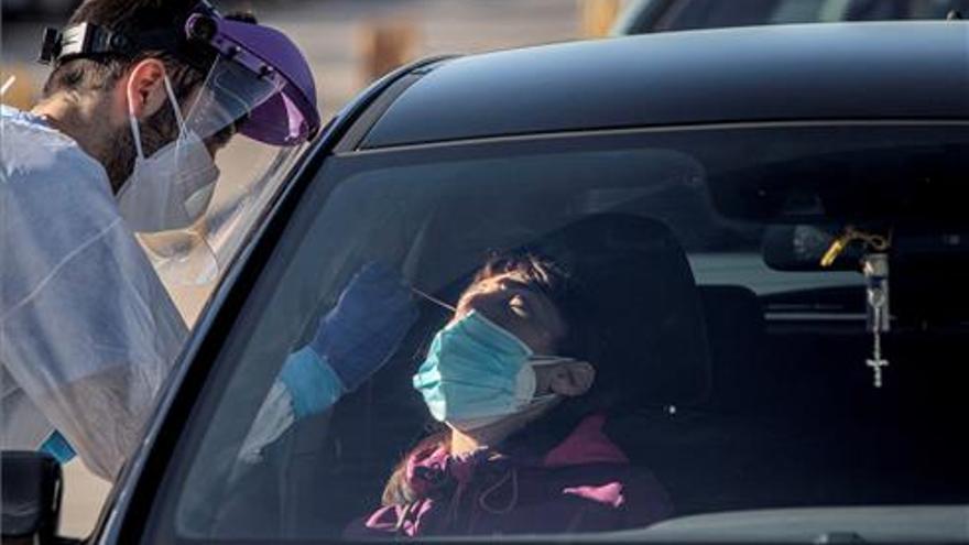 La presión hospitalaria desciende en Castellón en una jornada con siete contagios de covid