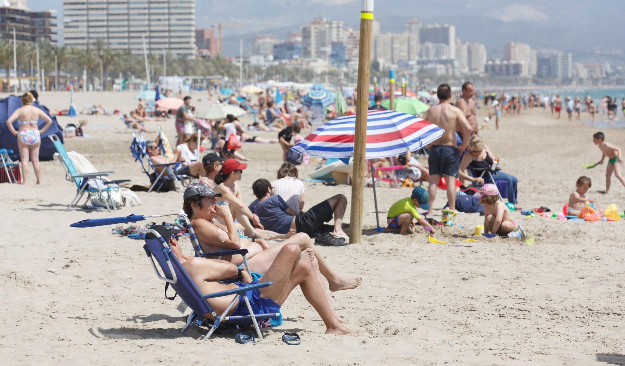 Imágenes del primer fin de semana sin cierre perimetral en Alicante