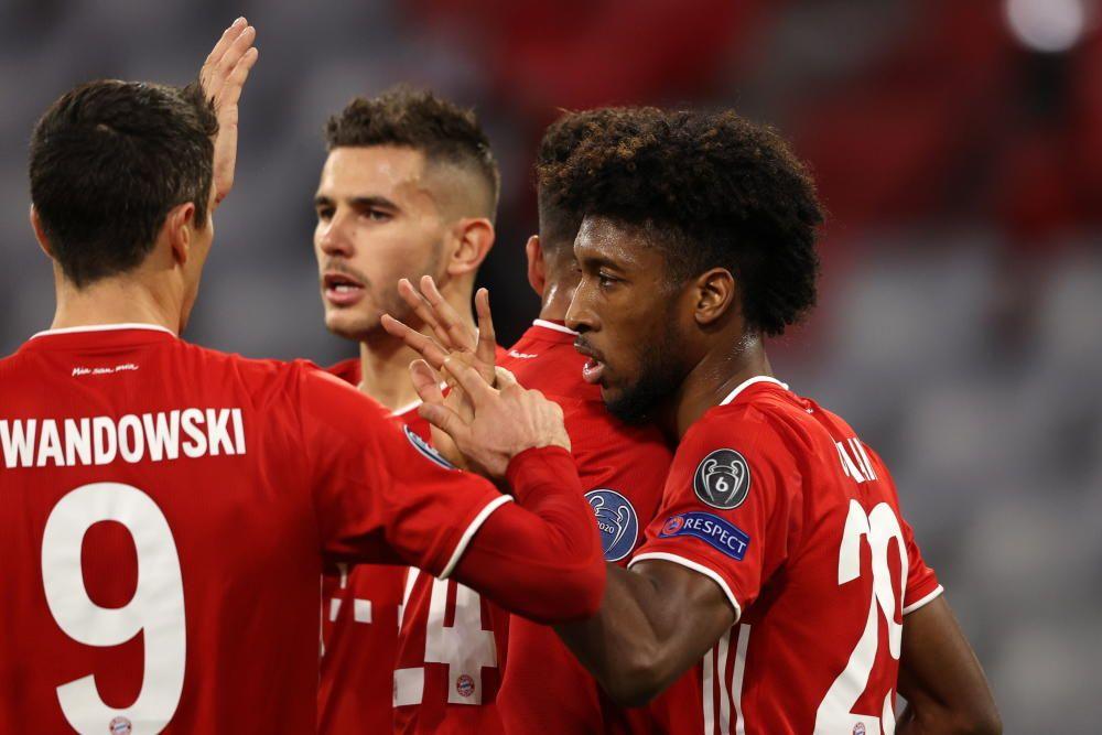 Las imágenes del Bayern - Atlético de Madrid.