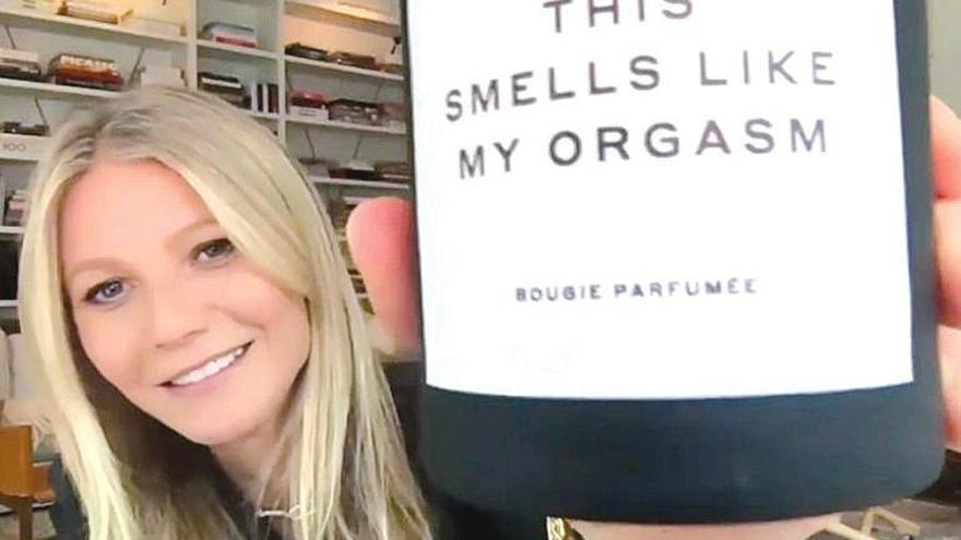 Paltrow enciende su gama aromática con velas que huelen a sus orgasmos