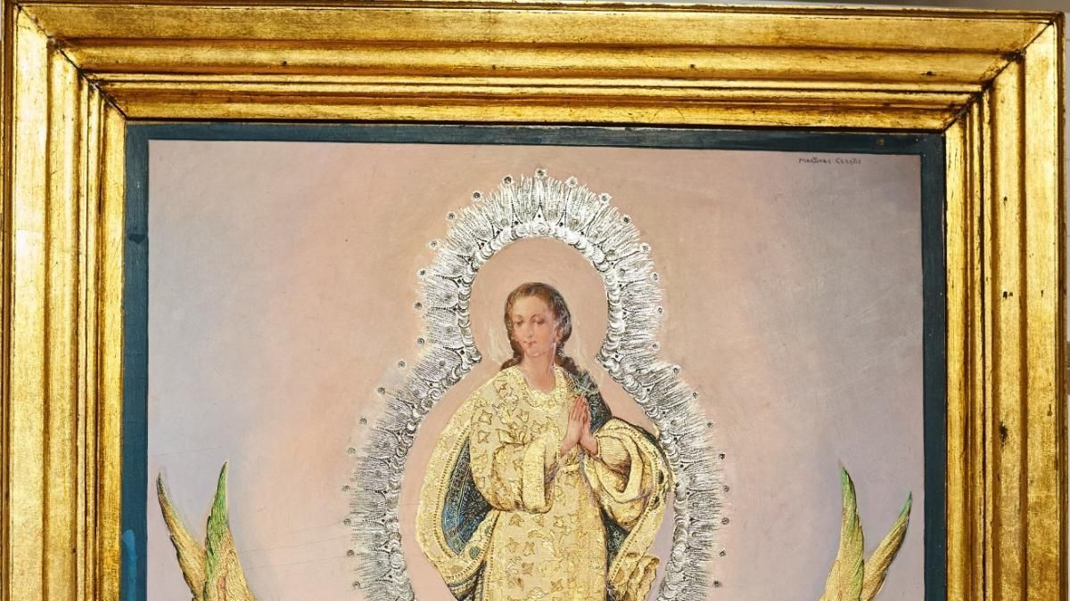 La Paz adquiere una pintura de Martínez Cerrillo
