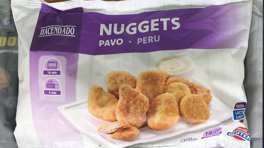 Mercadona vende 5.000 bolsas al día de nuggets de pavo sin gluten y sin lactosa