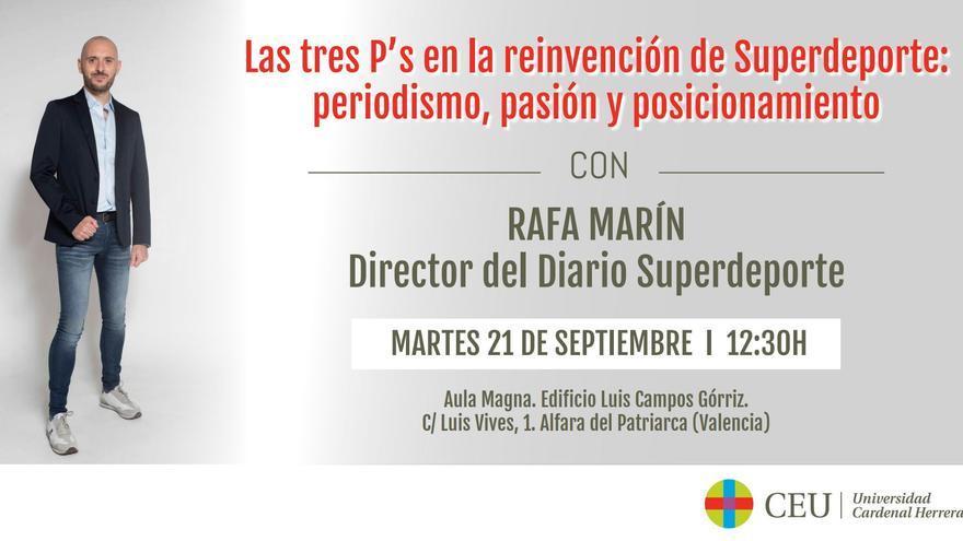 Superdeporte, en la Universidad Cardenal Herrera CEU