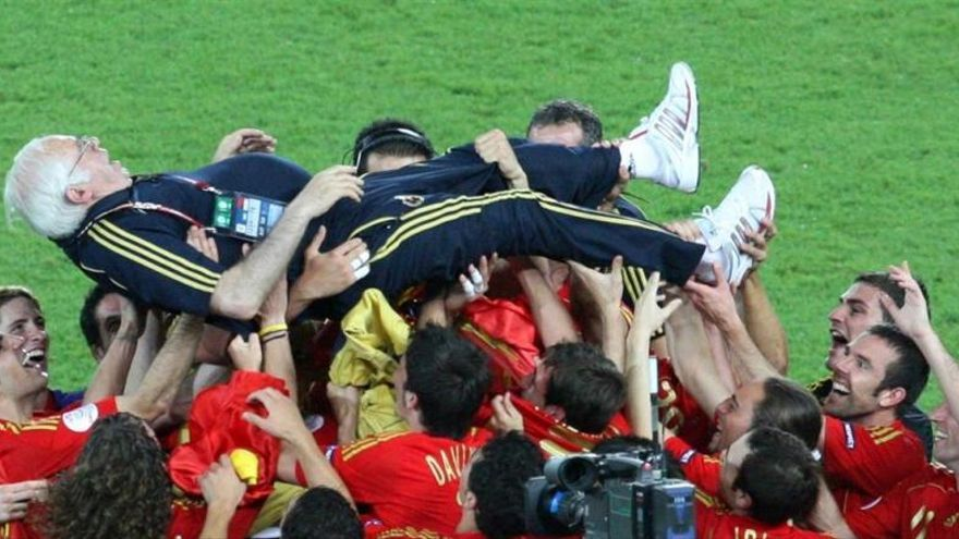 Luis Aragonés, dos años sin el sabio del fútbol español