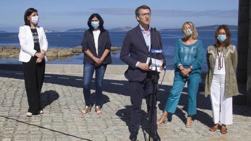 """Feijóo: """"Vigo fue una de las grandes ciudades donde mejor funcionó el sistema sanitario"""""""
