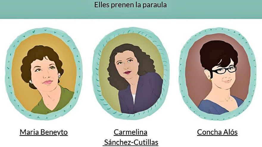 La Biblioteca Valenciana ofereix el taller en línia «Elles prenen la paraula»