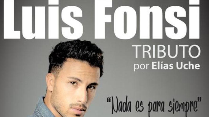 El teldense Elías Uche recorre este sábado en concierto la trayectoria musical de Luis Fonsi