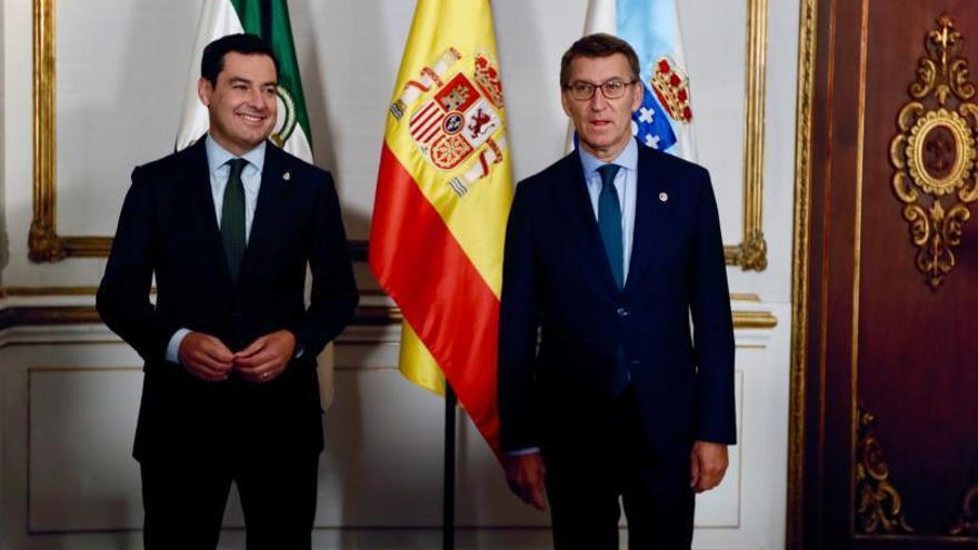 Andalucía y Galicia reclaman evitar la negociación bilateral en la financiación autonómica
